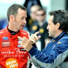 Kiwi motor racing legend Greg Murphy discusses the finer points of the Highlands circuit with...