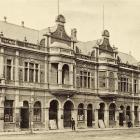 His Majesty's Theatre's Crawford St frontage in 1904. It was demolished in 1975. Photo by Richard...