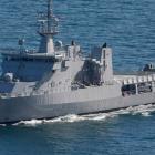 HMNZS Wellington. Photo: NZ Herald.