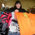 Hokonui Fashion Design Awards head of wardrobe Lea Koning with garments that will be displayed on...