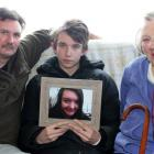 Holding a recent photograph of Nakita Strange, the Invercargill teenager killed in a car crash in...