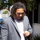 Hurricanes player Ma'a Nonu arrives at his Judicial Hearing at the NZRU offices in Wellington....