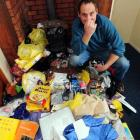 Landlord Brian Hurring is angry at the filthy condition his Forbury Corner, Dunedin, property has...