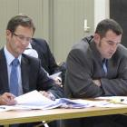 Ian Gordon, of Morrison Kent lawyers (left) and resource management planner John Edmonds, of...