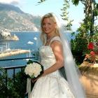 In this July 2005 photo provided by Lynn France, France poses for a photo on her wedding day on...