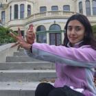 Indian classical, creative and contemporary dance teacher Bindu Rajendren, of Christchurch,...