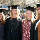Ines Shennan (22) of Auckland, Steph Curley (23) of Wellington, Marie Hoolihan (23) of Auckland,...