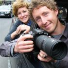 Inspiring Stories Trust chief executive Guy Ryan and project manager Laura Madden on the eve of...