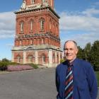 Invercargill City Council water manager Alister Murray stands near the city's 124-year-old water...