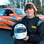Invercargill race car driver Liam MacDonald. Photo by Gerard O'Brien.