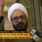 Iranian refugee Man Haron Monis speaks in this still image taken from undated file footage.Photo...