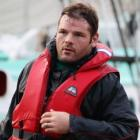 Ireland prop Mike Ross, seen after a recent team jet-boat ride in Auckland. Photo Getty Images