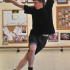 Tap dancer Isaac Chirnside (17) performs at the Denise Henderson School of Tap in Dunedin. Photo...