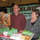 Ivan and Dot Burney, of Nutlands Hazelnuts. Photo by Charmian Smith.