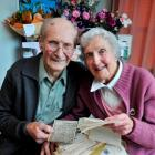 Jack and Helen Bremner, of Wingatui, who celebrated their 70th wedding anniversary this week,...