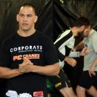 MMA fighter James Te Huna running a seminar at the New Zealand Fight and Fitness Gym last week....