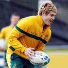 James O'Connor takes part in a Wallabies training session in Auckland today. Photo: REUTERS/Nigel...