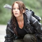 Jennifer Lawrence portrays Katniss Everdeen in a scene from The Hunger Games. (AP Photo/Lionsgate...