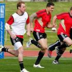 Jimmy Cowan, left, and Sonny Bill Williams will start against Tonga. Photo by Reuters
