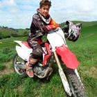 Joel Meikle returned to motocross just two months before winning the national junior 85cc title.