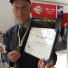 John Griffiths has been awarded a Paul Harris Fellowship for the humanitarian aid he has given...