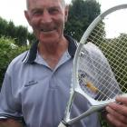 John Macdonald's tennis career has spanned more than 60 years. Photo by Sally Rae.