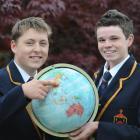 John McGlashan College pupils Nat Christensen (left) and Andy Dysart (both 17) have been selected...