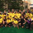 John McGlashan  First XI with the SMK Titiwangsa team on the school's recent tour of Malaysia....