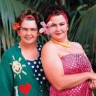 Jools (left) and Linda Topp's well-loved cast of characters include Camp Leader and Camp Mother ...