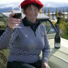 """Julie Nicholson was one of the many Wanaka residents who """"went French"""" for a day during the..."""