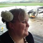 Julie Woods heads for Samoa where she will celebrate her 50th birthday and the 50th country she...
