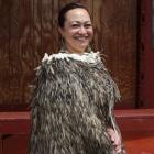 Justine Donner at Invercargill's Murihiku marae. Photo by Allison Rudd.