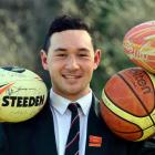Kaikorai Valley College pupil Thomas Johnson is a skilled athlete. Photo by Peter McIntosh.
