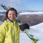 Karen Skillen is visiting ski resorts around the world promoting fundraising initiatives to help...