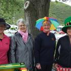 Kathryn McNeish of The Knobbies, Hilary Williamson and Rosemary Macnicol, both of Roxburgh, and...
