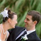 Katrina Marsh and Jamie Shaw, who celebrated their marriage at Willsher Bay, Kaka Point, last...