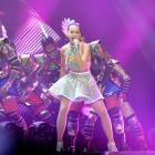 Katy Perry rocked out in Brisbane recently but she kept a low profile while in Queenstown. Photo:...
