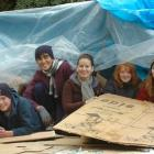Kavanagh College pupils prepare to spend the night in cardboard boxes to raise funds for Myanmar...