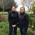 Keri Johnston (left) and Haidee McCabe have won this year's Enterprising Rural Women Award for...
