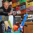 Kidz Inc founder Andrew Bowen, of Dunedin, believes it is important to give children the time and...