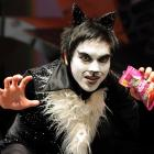 King's High School pupil Anthony Tep (15) plays Mr Mistoffelees in Andrew Lloyd Webber's <i>Cats,...