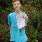 King's High School pupil Shaun Markham (16) worked hard to achieve NCEA level 2 with excellence....