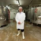 """Klondyke Fresh's Graeme Brown accuses the two milk companies of """"stretching"""" their product. Photo..."""