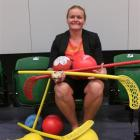 Lakes Leisure community programme and recreation manager Jendi Paterson shows off some of...