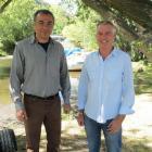 Lakes Marina Projects Ltd co-directors Iraj Barabi (left), of California, and Alan Kirker, of...