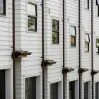 Laxon Tce, in Newmarket, Auckland, is a townhouse project of 21 units developed by Greg Nielsen...
