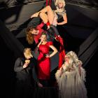 Le Cirque des Voleurs performers (clockwise from left) Sam Mckean, Laura Jane Archer, Toni Thomas...