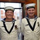 Leading seamen Brendon Tillyshort and Ian Johnstone.