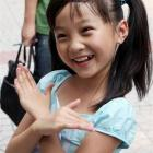 Lin Miaoke, a nine-year-old Chinese girl who performed at the opening ceremony of the Beijing...