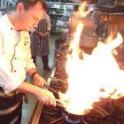 Edgewater Resort head chef Damon McGinniss